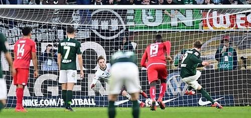 Вольфсбург – Майнц – 3:0. Видео голов и обзор матча