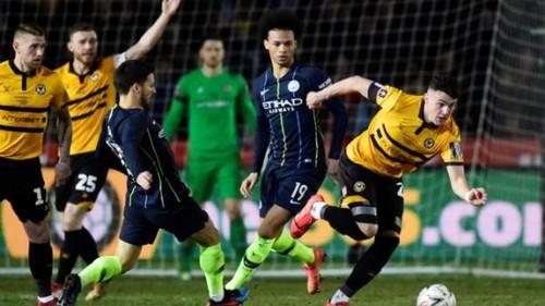 Манчестер Сити с Зинченко в составе вышел в 1/4 финала Кубка Англии