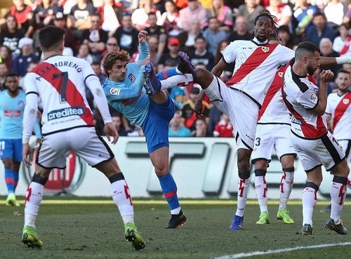 Райо Вальекано — Атлетико — 0:1. Видео голов и обзор матча