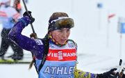 Ross Burton Biathlon. Надежда Белкина