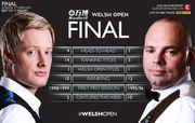 Снукер. Welsh Open. Финал. Бинэм - Робертсон. LIVE