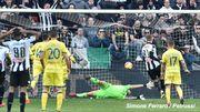 Серия А. Интер с минимальным преимуществом одолел Сампдорию