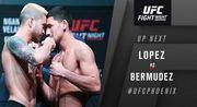 UFC on ESPN. Бермудес разобрался с Лопесом. Видео приема