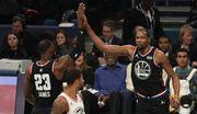 Команда Леброна обыграла команду Янниса в Матче всех звезд НБА