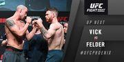 UFC on ESPN. Пол Фелдер единогласным решением победил Вика
