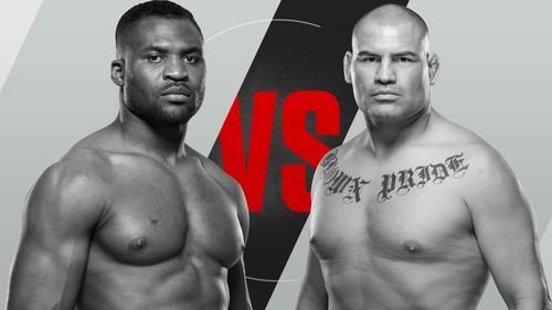 Где смотреть онлайн бой UFC on ESPN 1 Кейн Веласкес – Френсис Нганну