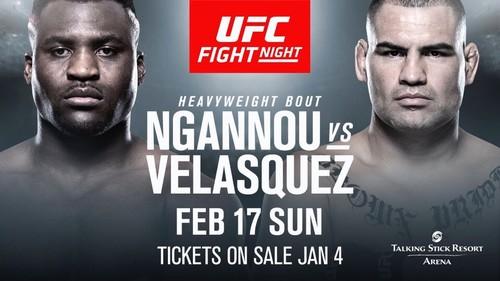 UFC on ESPN 1. Веласкес - Нганну. Полный кард турнира