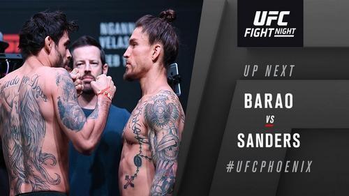 UFC on ESPN. Барао - Сандерс. Видео нокаута