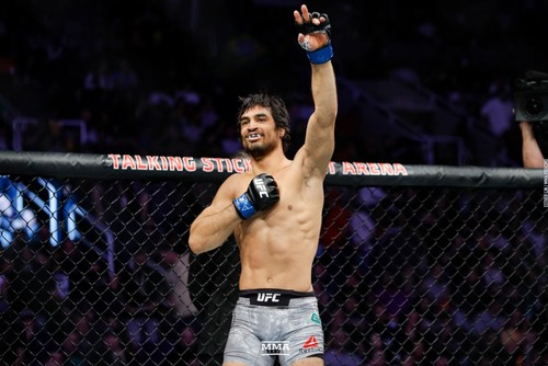 UFC on ESPN. Алекс Касерес - Крон Грейси. Видео боя