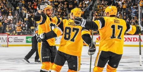 НХЛ. 10 подряд победа Сент-Луиса, успех Питтсбурга, неудача Вашингтона