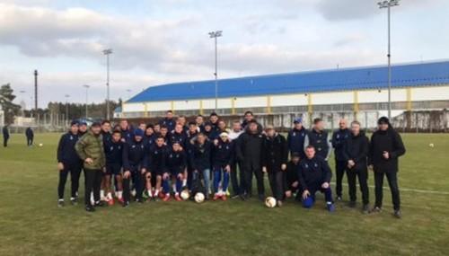 Фанаты Динамо посетили тренировку команды