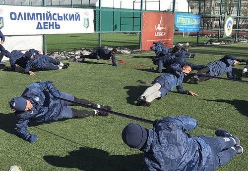 Олимпик начал подготовку к матчу с Мариуполем