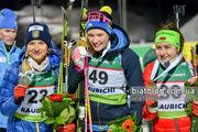 Украинский биатлон. Юлия Журавок, Ханна Эберг и Ирина Кривко