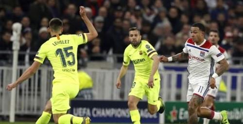 Лион - Барселона - 0:0. Видеообзор матча