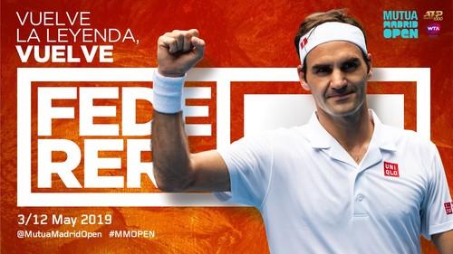 Федерер впервые за три года выступит на грунте