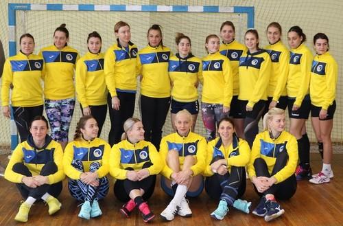 Назван состав женской сборной Украины по гандболу