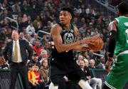 Данк и блок Адетокунбо в топ-10 дня в НБА