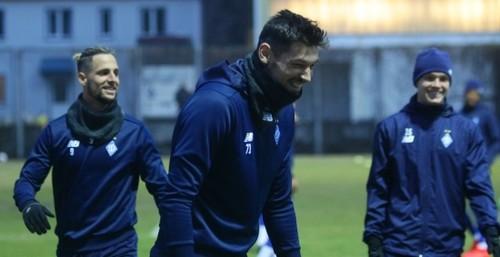 Бурда и Соль - в основе Динамо на матч с Олимпиакосом