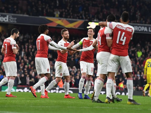 Арсенал не испытал проблем на Эмирейтс с БАТЭ