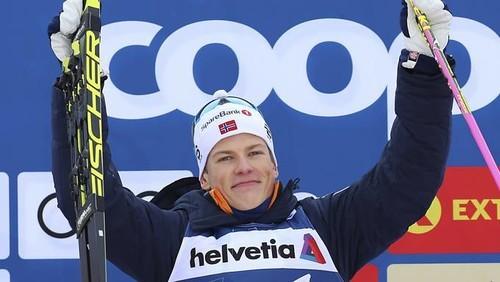 ВИДЕО. Свинский поступок российского лыжника в отношении Клэбо