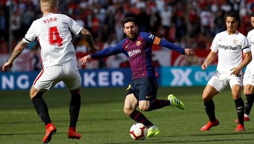 Севилья – Барселона - 2:4. Текстовая трансляция матча