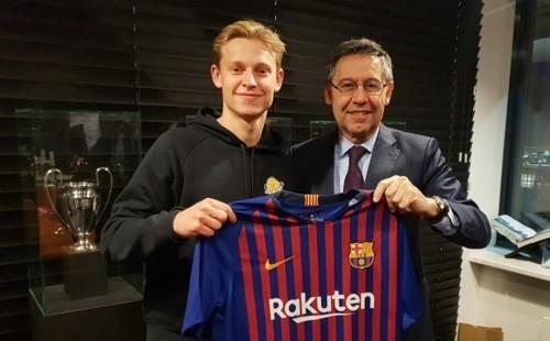Френки ДЕ ЙОНГ: «Аякс и Барселона похожи»