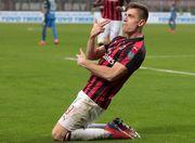 Милан выигрывает, Пентек снова забивает