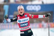 Йохауг – чемпионка мира в скиатлоне
