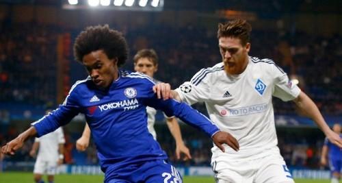 Челси напомнил о голе Виллиана в ворота Динамо в Лиге чемпионов