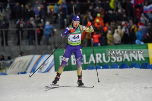 ЧЕ-2019 по биатлону. Меркушина заняла 8-е место в женском спринте
