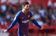 Лионель Месси хет-триком сделал возможной победу Барселоны в Севилье