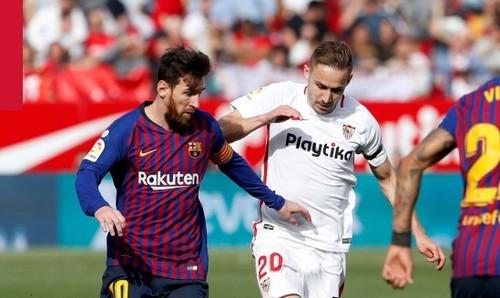 Севилья - Барселона - 2:4. Видео голов и обзор матча