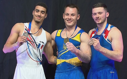 Радивилов выиграл золото на этапе Кубка мира в Мельбурне