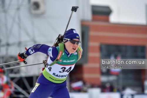 ЧЕ-2019 по биатлону. Меркушина финишировала 8-й в персьюте