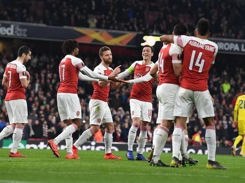 Арсенал дома победил Саутгемптон
