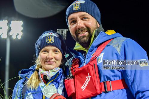 Украинский биатлон. Юлия Журавок и Андрей Прокунин