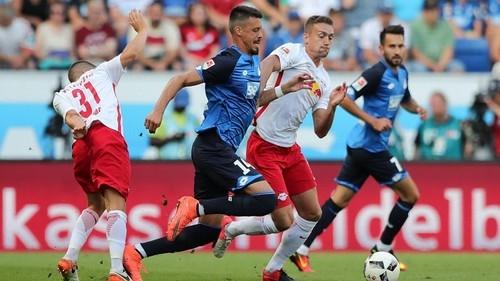 РБ Лейпциг – Хоффенхайм – 1:1. Видео голов и обзор матча