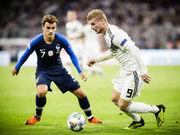 Германия — Франция - 0:0. Обзор матча