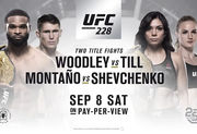 UFC 228. Вудли защищает титул против Тилла и другие бои турнира