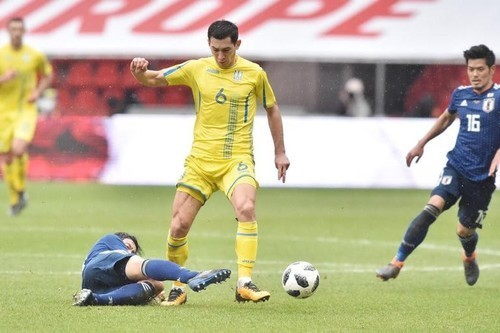 Тарас СТЕПАНЕНКО: «Со стороны сборной Украины был качественный футбол»