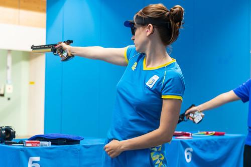 Костевич стала чемпионкой мира в спортивной стрельбе из пистолета