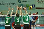 В мужском Кубке Вызова состоялись первые полуфиналы