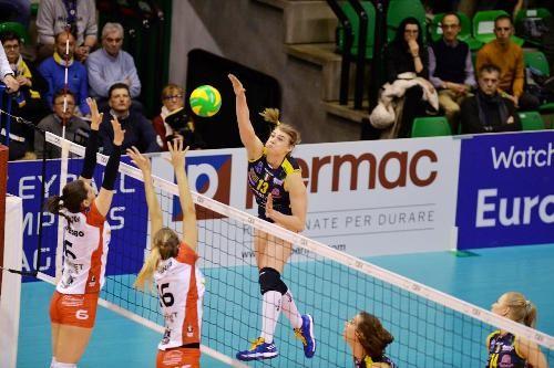 Завершился групповой этап женской волейбольной Лиги чемпионов