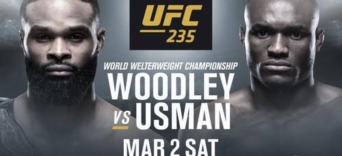 UFC 235. Тайрон Вудли – Камару Усман. Прогноз и анонс на бой
