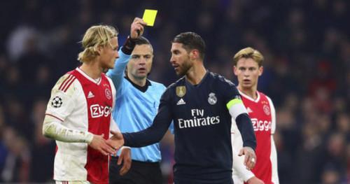 УЕФА дисквалифицировал Рамоса на два матча