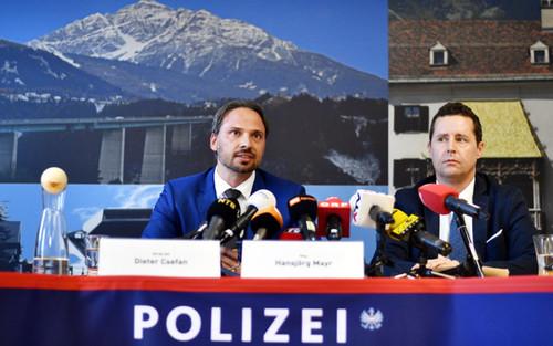 EPA/Spanpix. Пресс-конференция австрийской полиции