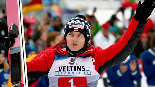 Кубацки – чемпион мира на среднем трамплине