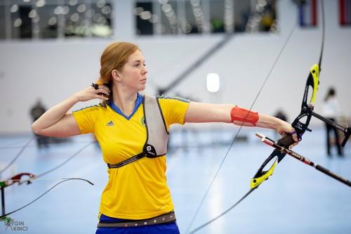 Українські лучники вибороли ще три медалі на чемпіонаті Європи