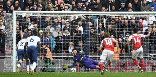 Тоттенхэм отстоял ничью с Арсеналом в дерби Северного Лондона