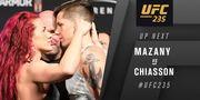 UFC - 235. Мэйси Кьязон - Джина Мазани. Видео нокаута